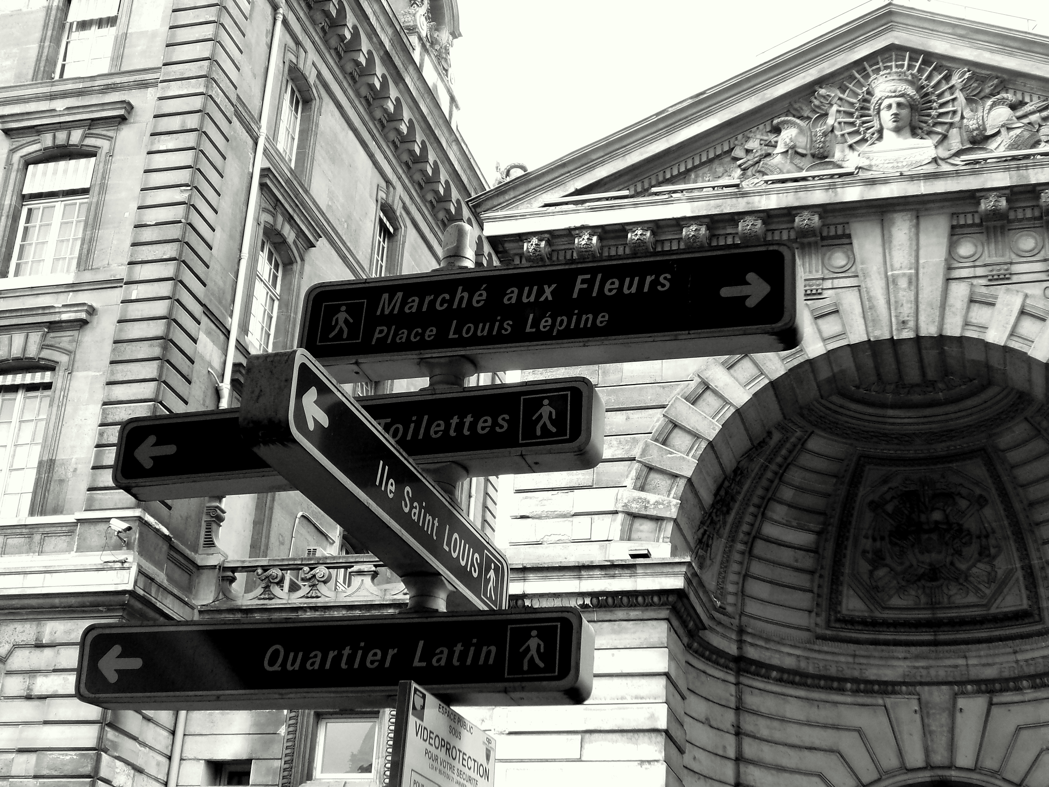 French street signs lol.